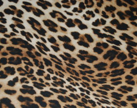 Tessuto Leopardato